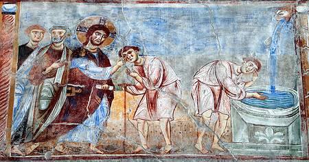 affresco-chiesa-di-s.Angelo-in-Formis-XII-sec.